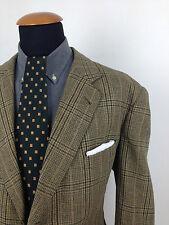 John G Hardy London 44s Tweed TIRO hacking Blazer Giacca Paese ROMBO canadese