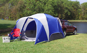 5-Person Dome Tent SUV Easy Setup Ozark Trail Camping Outdoor, Festivals, Events