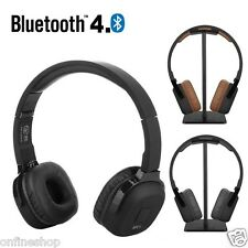 Bass Wireless On Ear Bluetooth Headphone Headsets with Mic Audio and Wired Mode