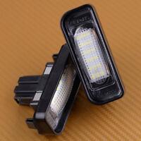 2X LED Kennzeichenbeleuchtung für Mercedes Benz W220 S320 S350 S500 S55 S65 Neu