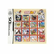 318 in 1 Video Game Cartridge Card Compilation for Nintendo DS 3DS 2DS Consoles