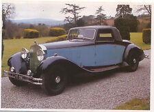 1931-34 Hispano Suiza  MODERN postcard by Magna Books
