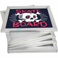 20 X 24 Inch Aluminum Silk Screen Printing Frame With 110 Count Mesh