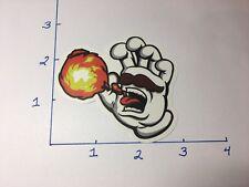 Santa Cruz Screaming Hand Mario Fireball Hand Sticker Unique US SELLER