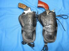 Western Leather Holster Ruger SP101 357/22 and 22 Cal. SA Revolver