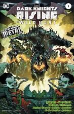 DARK KNIGHTS RISING THE WILD HUNT #1 BATMAN METAL FOIL COVER DC COMICS NM