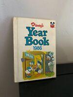 Vintage Disney's Year Book 1986 Yearbook Walt Disney Wonderful World of Reading
