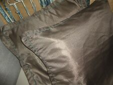 CANDICE OLSON CHARMED LIFE BROWN BRONZE (PAIR) ZIPPERED EURO PILLOW SHAMS 26""