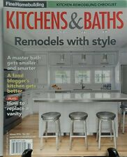 Fine Homebuilding Kitchens & Baths Winter 2017 Remodel Style FREE SHIPPING sb