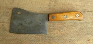 """Vintage Briddell No. 860 6"""" Meat Cleaver"""