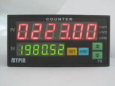 90-265V AC/DC 6 Preset Digital Batch counter 2 Relays Output FC8-6BRRB 48H X 96W