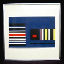 Albert Jean GORIN 1899/constructive/SERIGRAFIE, daté dans le cadre/1976