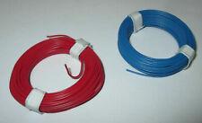 """(1m = EUR 0,1475)Schaltdraht  0,5mm Kupfer  2 Ringe a 10 Meter  """"NEU"""""""