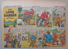 Lone Ranger Sunday Page by Fran Striker and Charles Flanders from 5/26/1940
