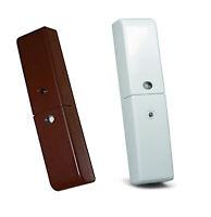 Sensore SILENTRON 5515 bianco marrone apertura porte finestre allarme wireless
