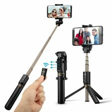 Bluetooth Selfie Stick Tripod with Remote and 360° Rotation - NEW - UK STOCK!