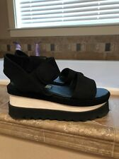 $550 Stella McCartney Platform Wedge Athletic Sandal Shoe 38 7