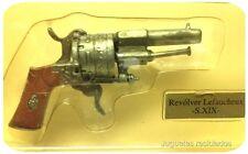 REVOLVER LEFAUCHEUX SIGLO XIX mIniatura plomo armas de fuego