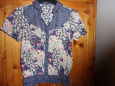 George Collared Blouses Floral Tops & Shirts for Women