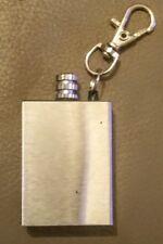 Survival Camping Emergency Fire Starter Flint Match Square Lighter Keychain