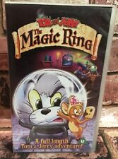 Tom And Jerry - The Magic Ring VHS Video Tape Classic Cartoon 2001 TBLO