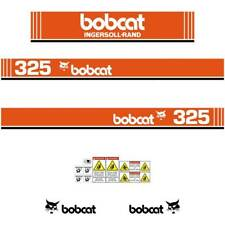 Bobcat 325 X Early Series Decals Stickers, Repro Aftermarket Decal kit