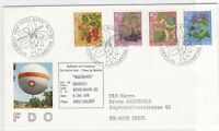 switzerland balloon post stamps cover  ref 7683