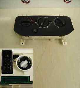 Renault Clio MK2 1998-2001 Heater Controls Dials NON AIR CON 6549800