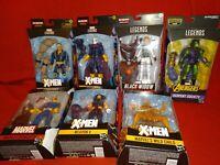Lot Of 7 Marvel Legends New