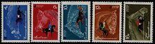 U.R.S.S. - 1968 - Cavalli nello sport - Unificato nn.3330/3334 - nuovi - MNH