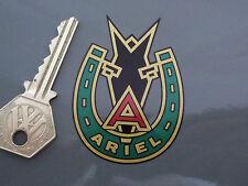 "Ariel Cabeza De Caballo Y Herradura clavijero estilo pegatina de 2,5 ""Plaza 4 Flecha Hunter"