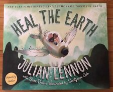 Heal the Earth 2018 Signed 1st Edition Autographed By Julian Lennon The Beatles