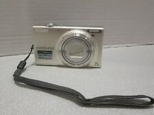 Nikon COOLPIX S6100 16 MP HD Digital Camera 7X Opt. Zoom AS-IS