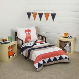 Carter's Aztec 3 Piece Toddler Bedding Set See Details !