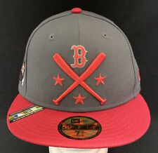 New Era 59fifty Boston Red Sox 2019 All Star Game Red Gray Fitted Hat 7 1/2