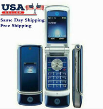 Refurbished Original Motorola Krzr K1 Gsm 2Mp Bluetooth Flip Unlocked CellPhone