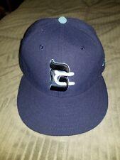 Brooklyn Cyclones New Era Hat Size 7 1/4 NY Mets Jewish Heritage Night