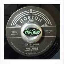 BOB TAYLOR/BOBBY FULLER RE-DON'T BE UNFAIR - NORTON YUCCA SERIES 50/60s ROCKERS