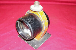 Old Survey Tool Piece Surveying Surveyors Vintage Sight Mirror Scope Collectible