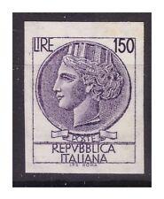 ITALIA 1968 - SIRACUSANA Lire 150 NON DENTELLATO  NUOVO **