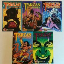 Tarzan The Warrior Complete Set #1-5 Malibu Comic 1992 2 3 4