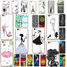 Etui Housse Coque Case Cover For IPhone 5 6s 7 PLUS Slim Pattern Soft Back TPU