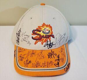 WNBA Basketball Connecticut Sun 2013 Team Signed Autograph Adjustable Hat Cap