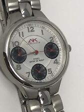 NWT Anne Klein Sport Womens Stainless Watch Water 165 Ft Water Resistant
