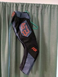 Fox Racing Men's Legion LT Motocross Pants Blue Steel Size 28