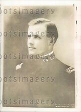 1918 US Army Lieutenant  Future General John C. H. Lee Press Photo