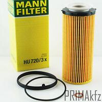 MANN FILTER HU720/3x Ölfilter BMW 3er 5er 325d 330d 530d 535d 7er X5