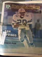 """"""".NFL Dallas Cowboys Official Weekly Magazine January, 12, 1980; Vol. 5, No. 31"""