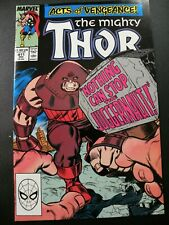 Thor #411 NM- 1st Appearance of The New Warriors, Juggernaut