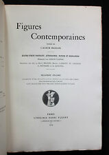 1904 Angelo Mariani Vin Album Figures contemporaines Ex. 1/25 Arches Rare biblio